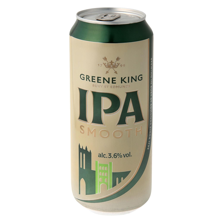Cerveza Greene King IPA Smooth lata 44 cl.