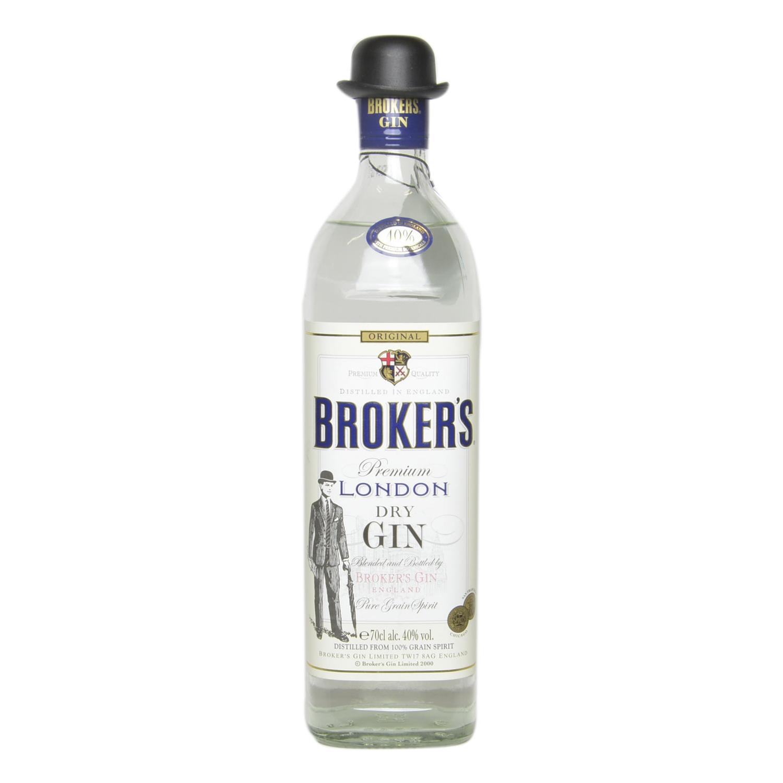 Ginebra Broker's premium 70 cl.