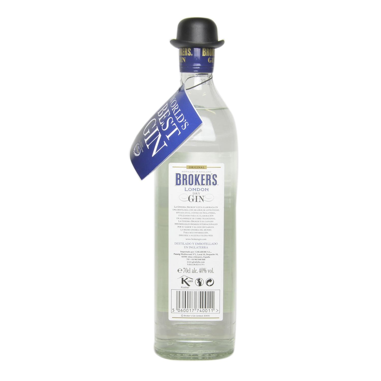 Ginebra Broker's premium 70 cl. -