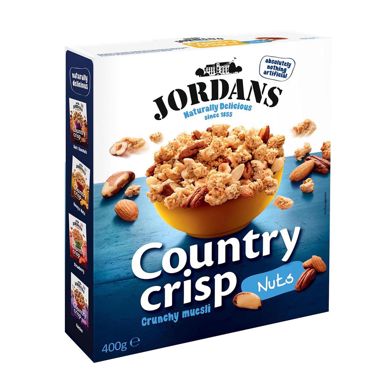 Cereales con nueces Muesli Jordans 400 g.