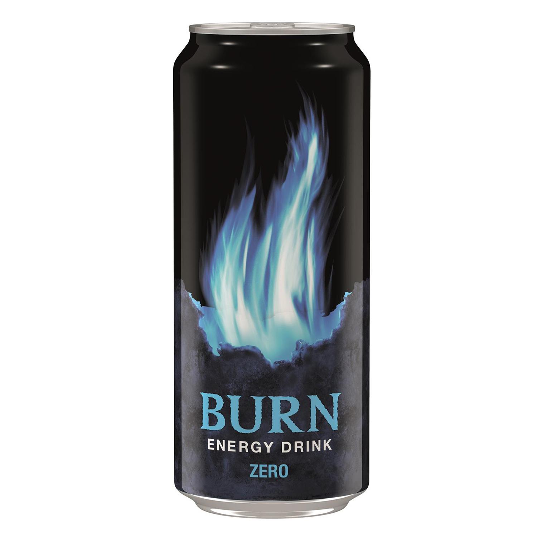 Bebida energética Burn zero 50 cl.