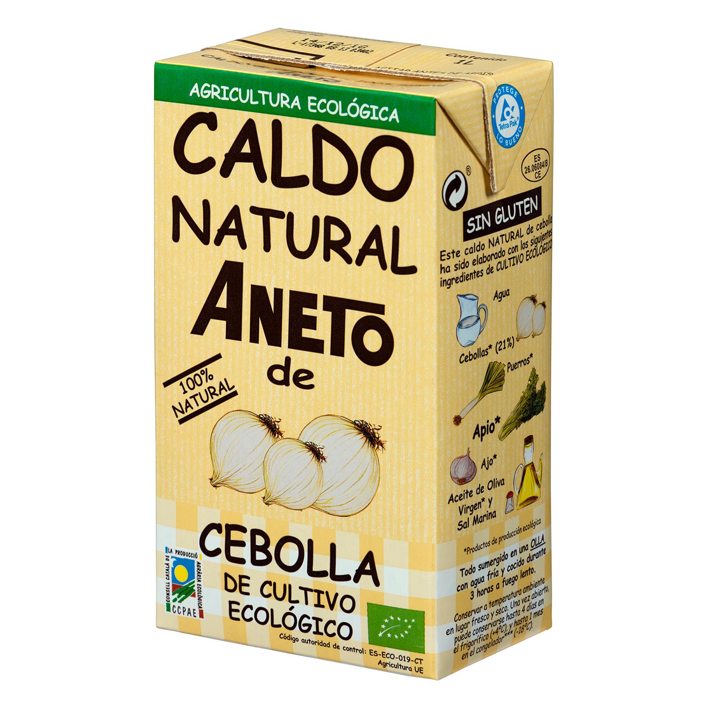 Caldo natural de cebolla ECO