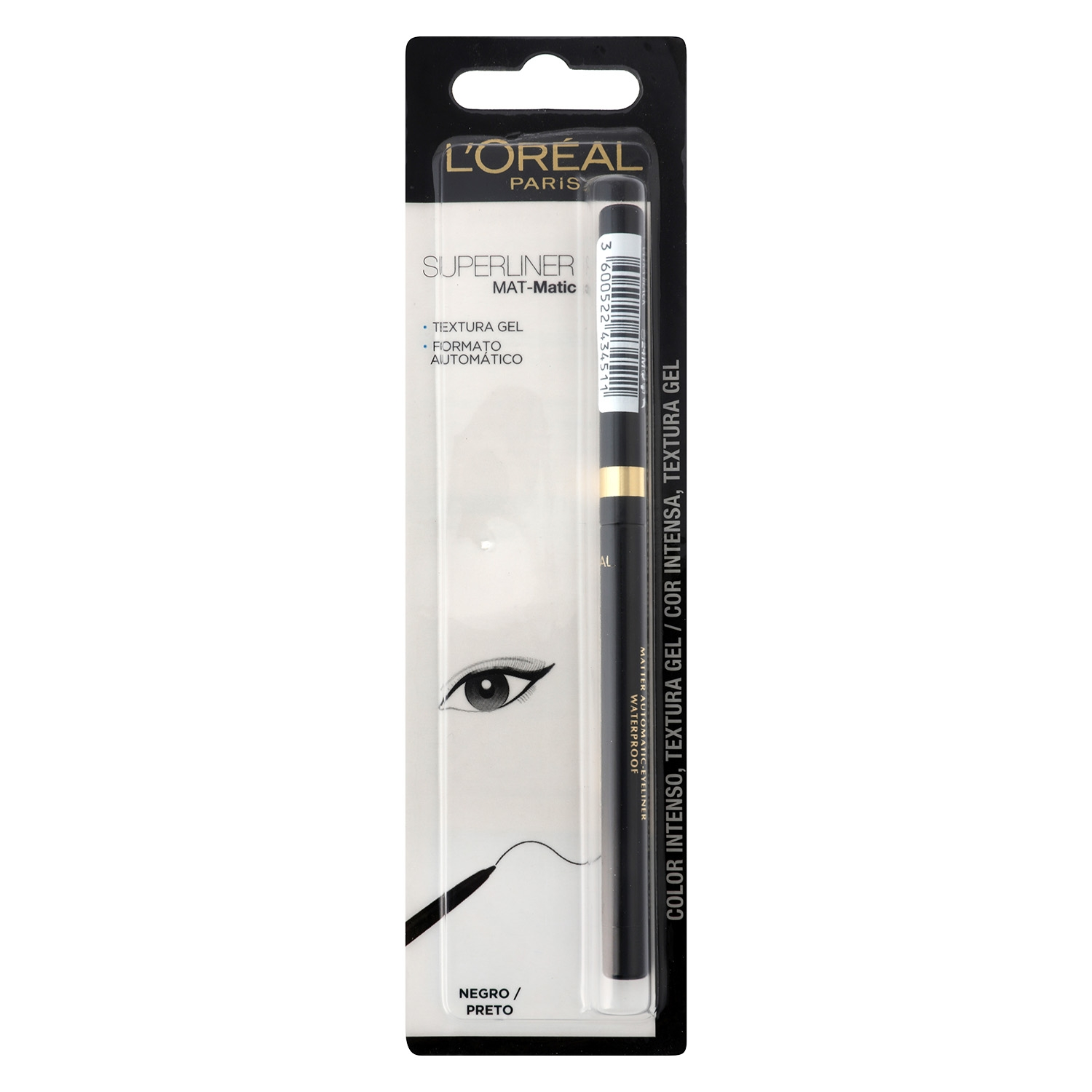 Eyeliner superliner negro
