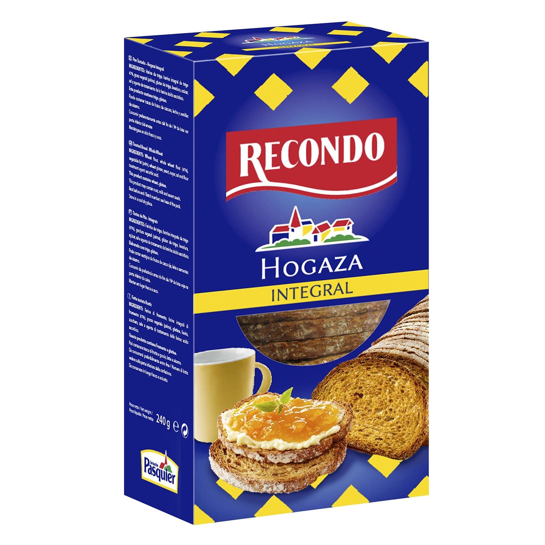 Hogaza de pan integral tostado