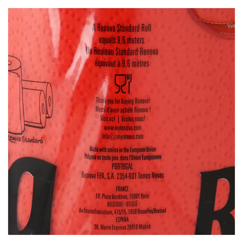 Papel de cocina compacto red label Renova 1 rollo - 2