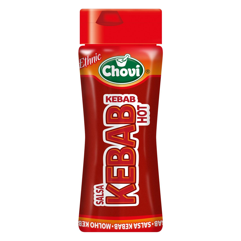 Salsa kebab hot Chovi envase 270 ml.