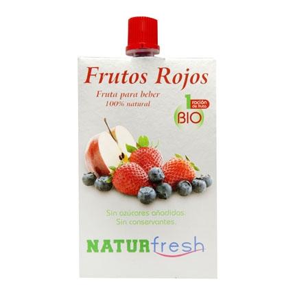 Preparados para beber de frutos rojos Naturfresh bolsa 200 g.