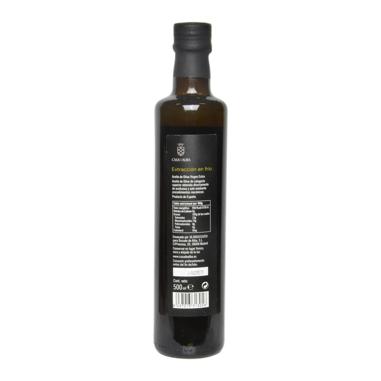 Aceite de oliva virgen extra Casa de Alba 500 ml. -