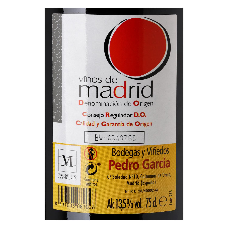 Vino D.O. Madrid tinto  -