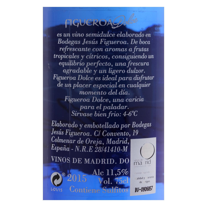 Vino D.O. Madrid blanco semidulce Figueroa 75 cl. -
