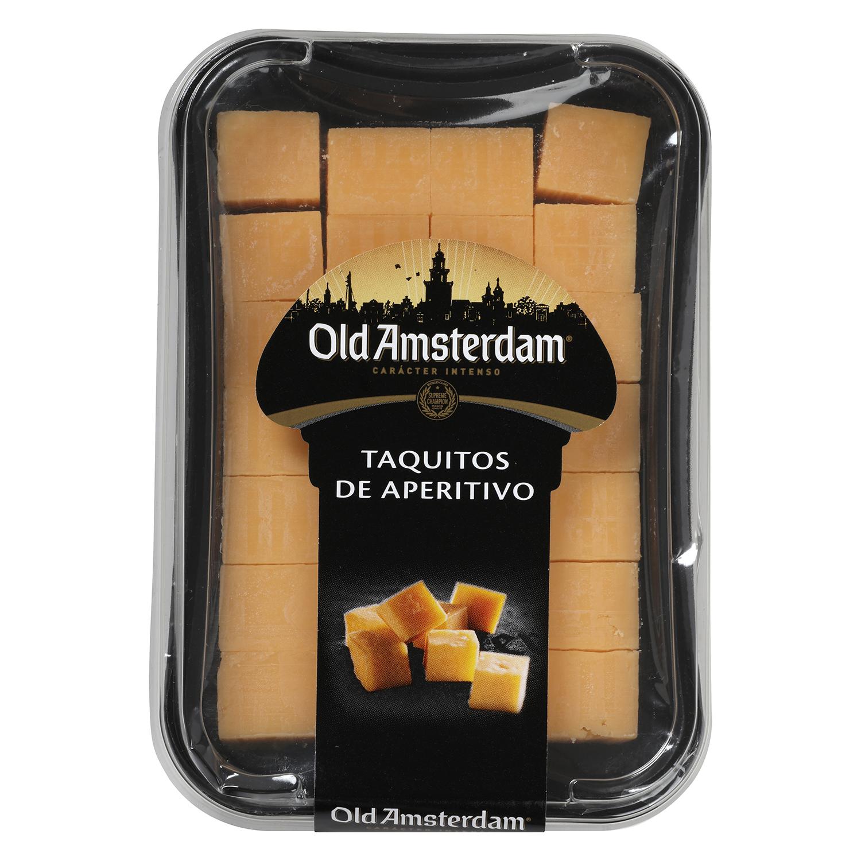 Taquitos de aperitivo de queso gouda