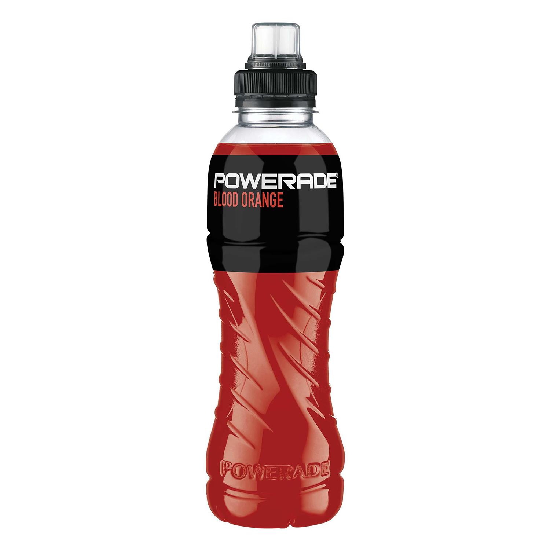 Bebida Isotónica Powerade Orange Burst botella 50 cl.
