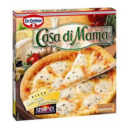 Pizza de 4 quesos Dr. Oetker - Casa di Mama 395 g.