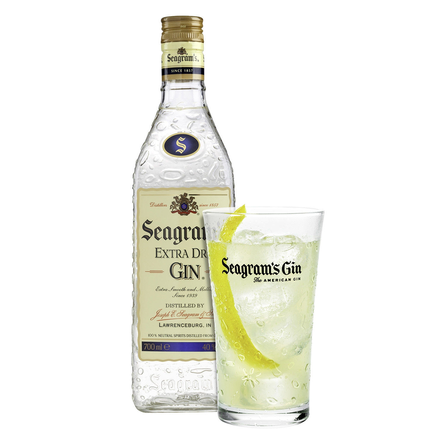 Ginebra Seagram's extra 70 cl. - 2