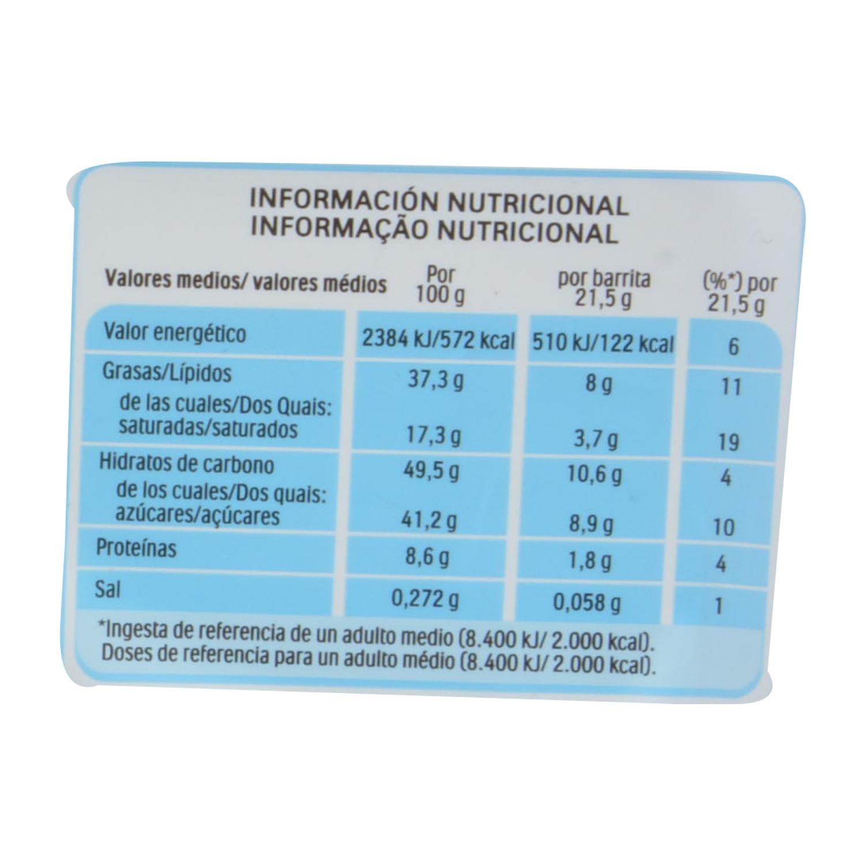 Barritas de chocolate con leche y crema de avellana Kinder Bueno 4 ud. - 2