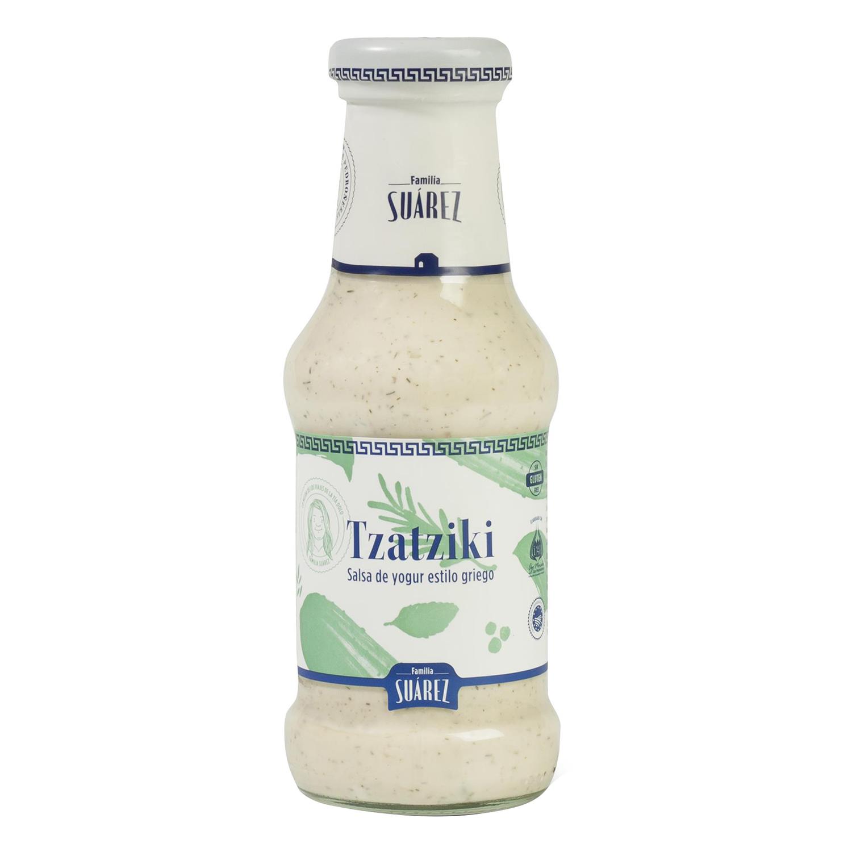 Salsa Tzatziki para ensaladas monedero