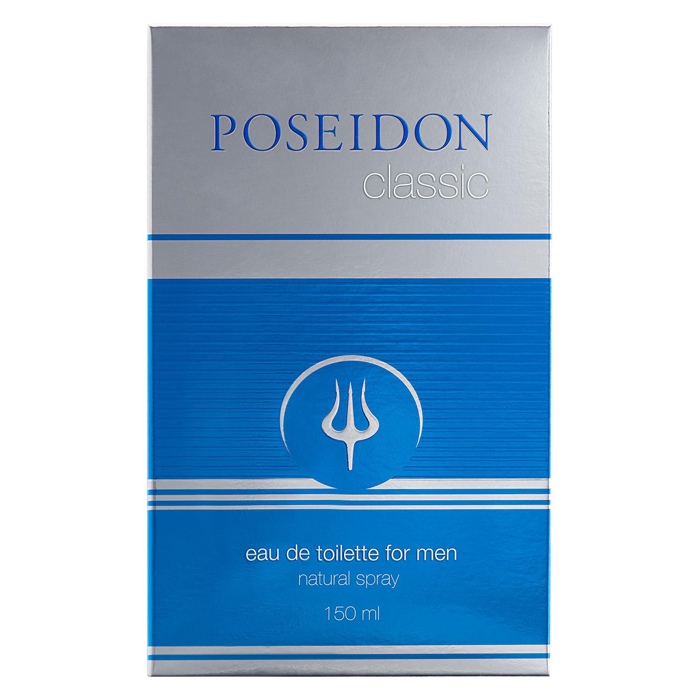 Agua de colonia masculina Poseidon 150 ml.