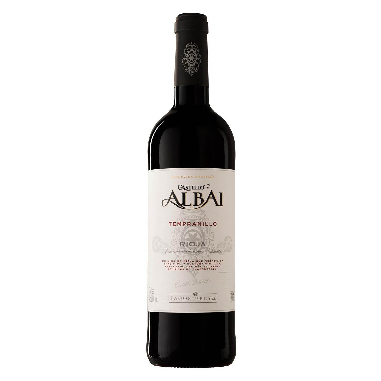 Vino D.O. Rioja tinto Castillo de Albai 75 cl.