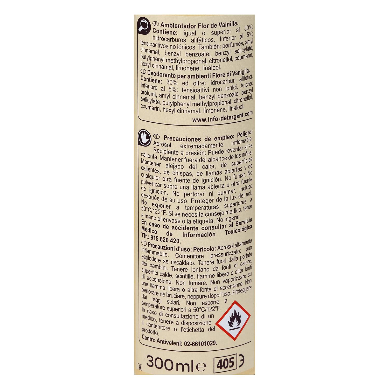 Ambientador vainilla Carrefour 300 ml. - 2