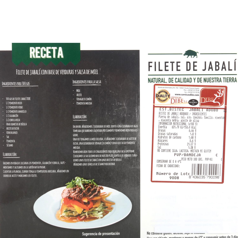 Carne de jabalí - 3