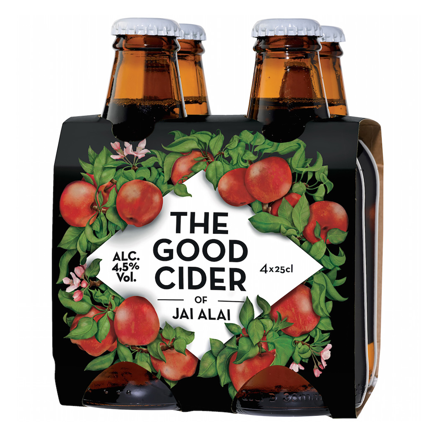 Sidra The Good Cider pack de 4 botellas de 25 cl.