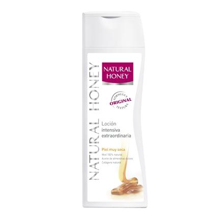 Loción intensiva extraordinaria piel muy seca Natural Honey 400 ml.