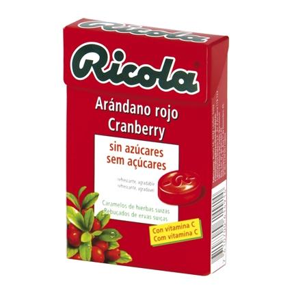 Caramelo Arándano rojo Cranberry sin azúcares