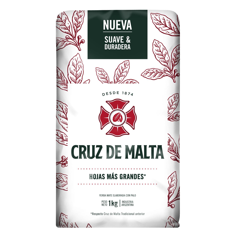 Yerba Mate Cruz Malta 1 Kg Carrefour Supermercado Compra