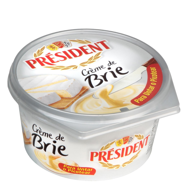 Crema de queso brie