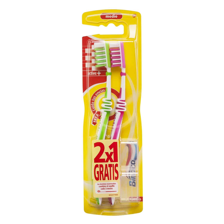 Cepillo de dientes Interdental Medio Active Plus