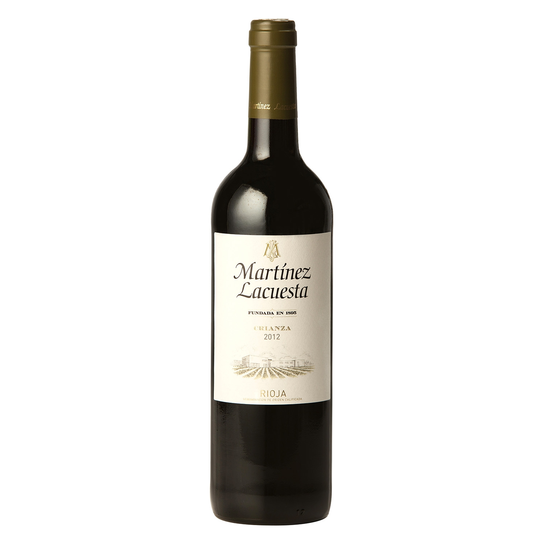 Vino D.O. Rioja tinto crianza Martínez Lacuesta 75 cl.