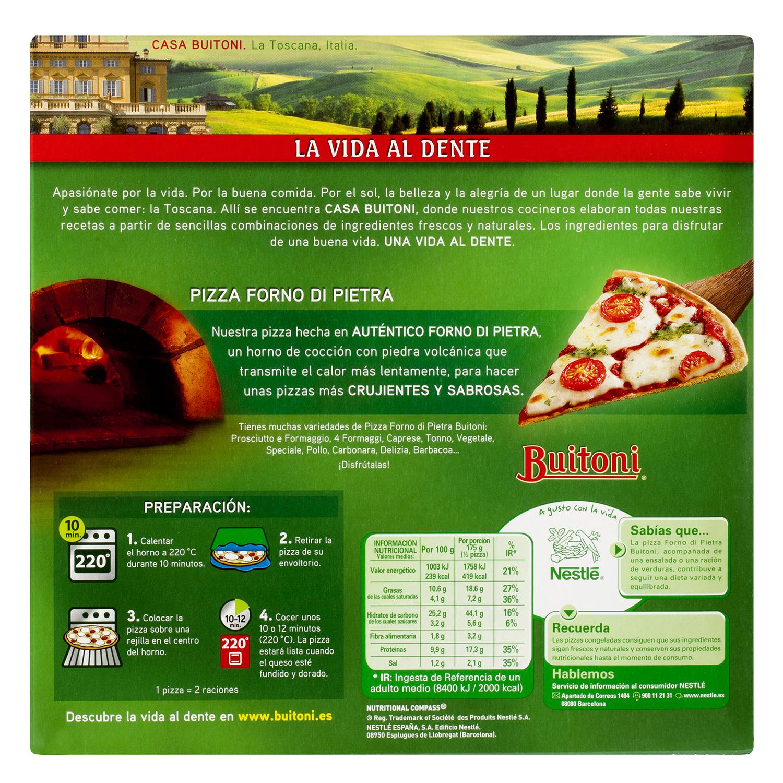 Pizza Forno Di Pietra Caprese Buitoni 350 g. -
