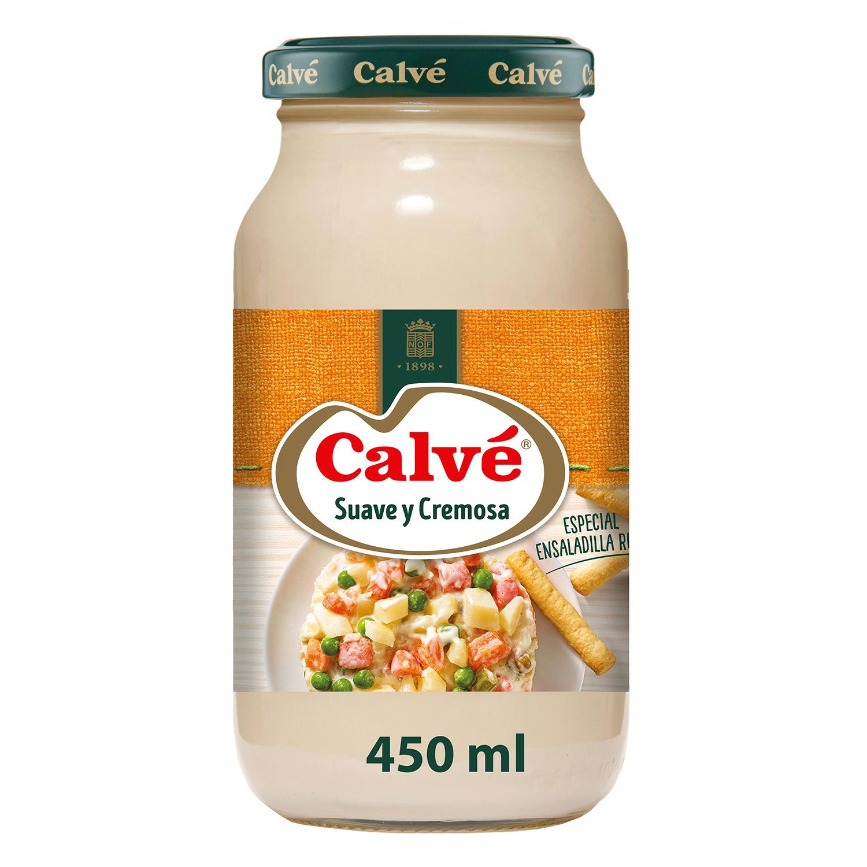 Mayonesa especial ensaladilla rusa Calvé tarro 450 ml. - 2