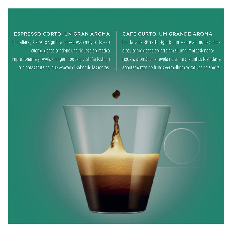 Café ristretto en cápsulas Nescafé Dolce Gusto 16 unidades de 6,5 g. - 2