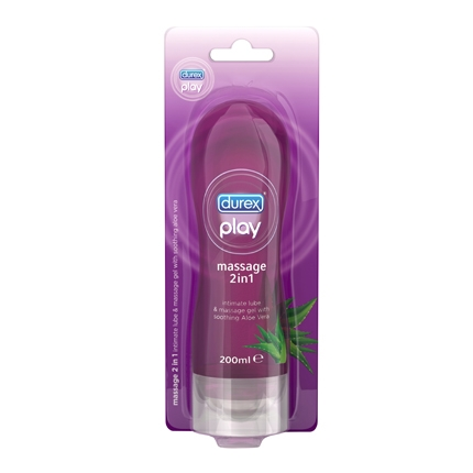 Play Massage 2 en 1 Aloe Vera Durex 200 ml.