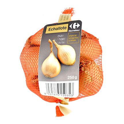 Cebolla echalotte Carrefour 250 g -
