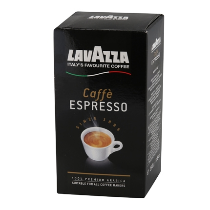 Café molido natural arábica Lavazza 250 g.