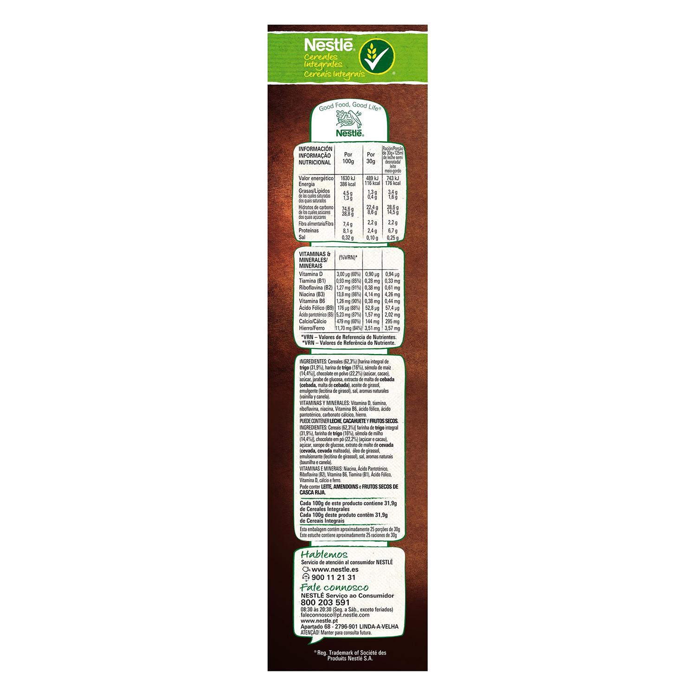 Cereales integrales Chocapic Nestlé 750 g. -