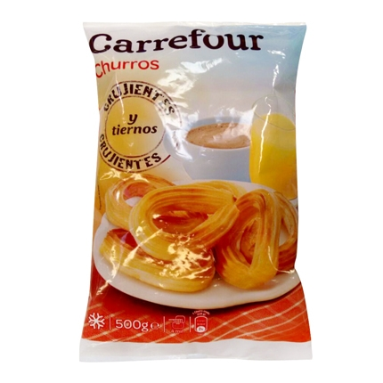 Churros Lazo Carrefour 500 g.