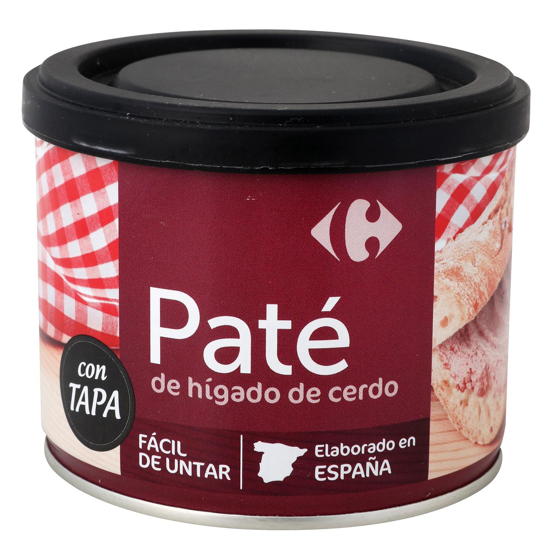 Paté de higado de cerdo Carrefour - Carrefour supermercado compra online