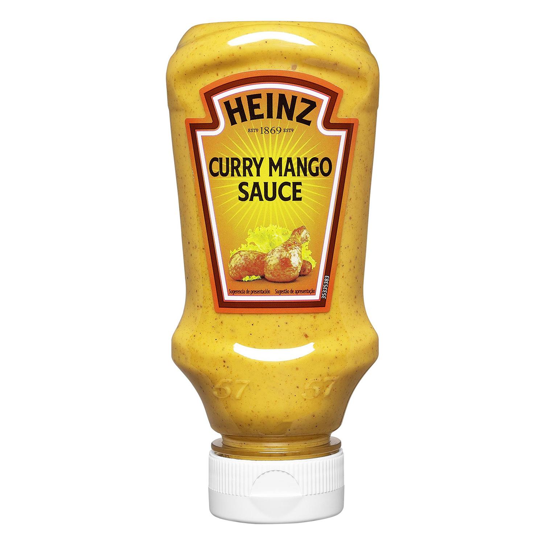 Salsa curry Heinz 260 g.