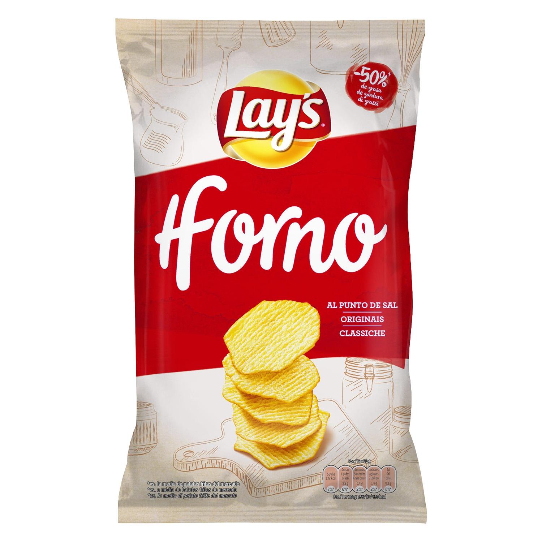 Patatas fritas al punto de sal Receta al Horno
