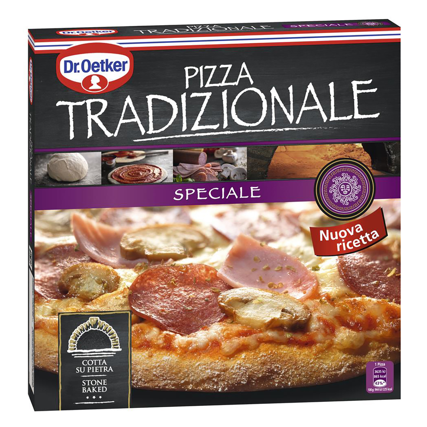 Pizza Tradizionale Speciale Dr. Oetker 350 g.