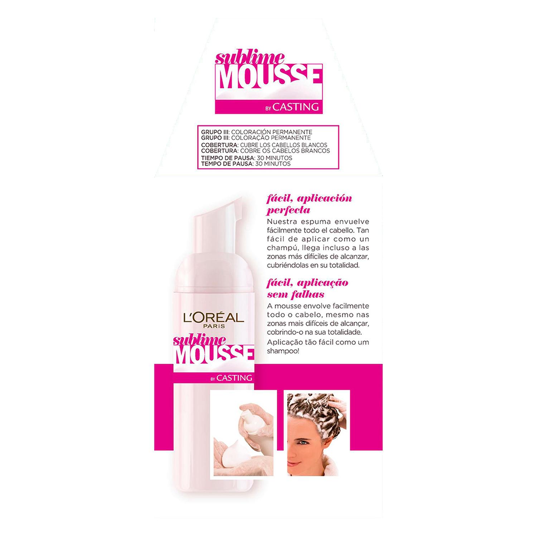 Tinte nº 740 Cobrizo Ardiente L'Oréal Sublime Mousse 1 ud. -
