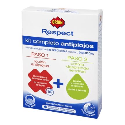 Kit antipiojos loción + crema desprende liendres Sin Insecticidas
