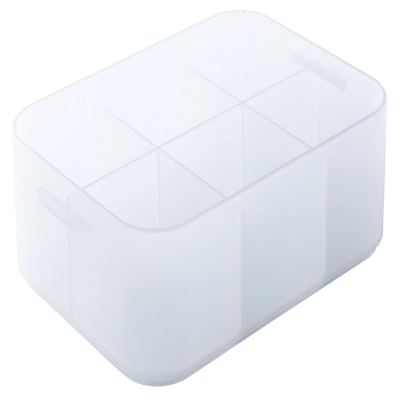 Caja con separadores de Plástico Pratik Crf H. A6 Baja - Transparente
