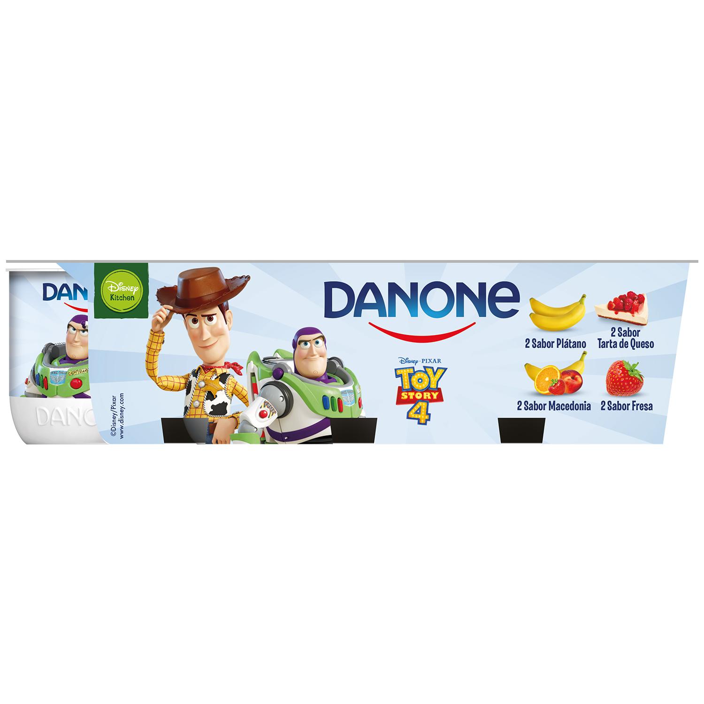 Yogur de sabores Danone pack de 8 unidades de 125 g. -