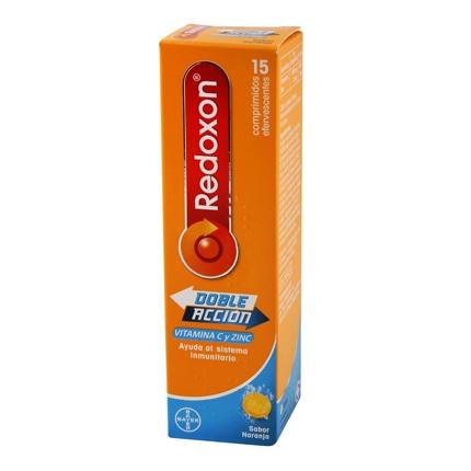 Redoxon 1000Mg Naranja Comprimidos Efervescentes Bayer 15 comprimidos.