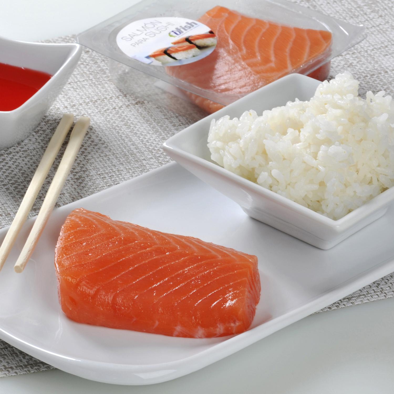 Salmón Sashimi Ahumados Gimar 140 g