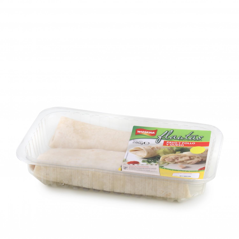 Flautas de pollo y queso Carrefour 280 g